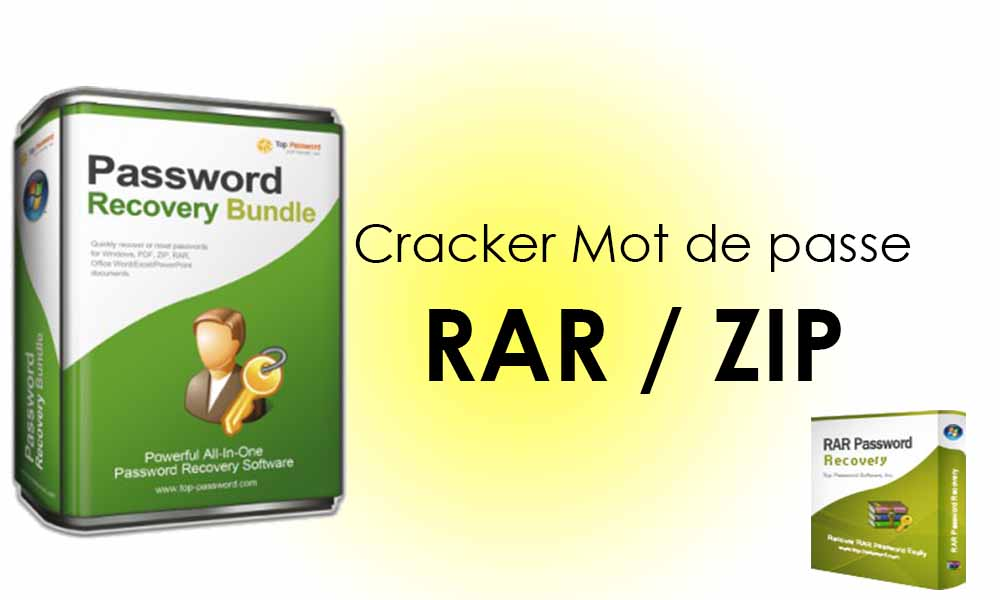 Cracker le mot de passe d'un fichier RAR/ZIP avec RAR Password Recovery