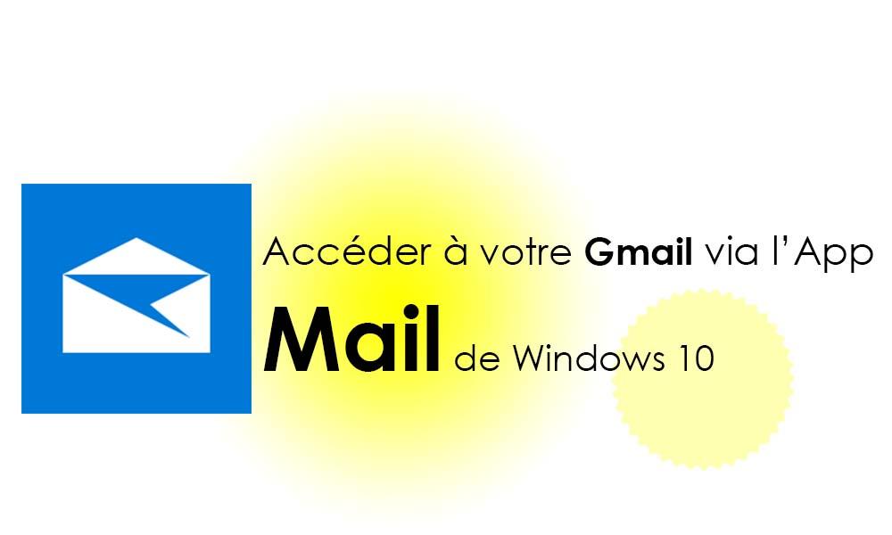 Accéder directement à Gmail dans l'application « Mail » de